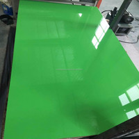 Different color melmaine paper faced uv paint mdf board