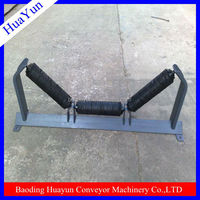 35 degree angle PVC steel rollers brackets for modular plastic belt conveyors