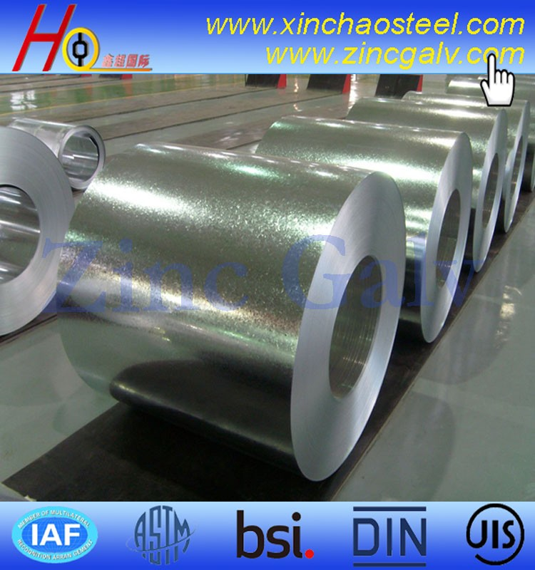ASTM A653 DX51D HBIS galvanized steel coil from Tangsteel
