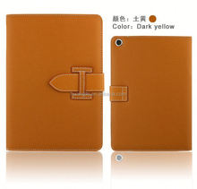 High quality Universal Tablet Case western cowboy leather case for ipad New coming