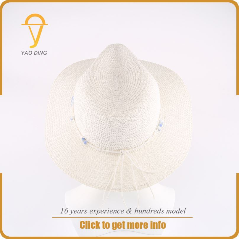 Yaoding Guangzhou factory wholesale private label ladies dress hats wholesale