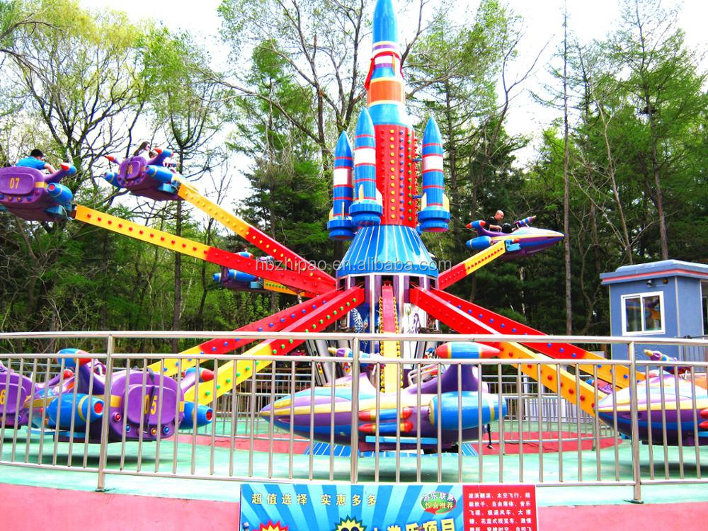 factory price attractive outdoor playground ride rotating self control airplane for sale
