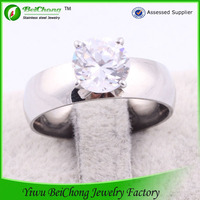 Alibaba website silver plated jewelry diamond ring joyas de plata