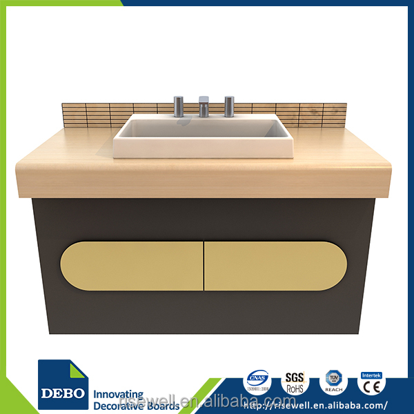 Top quality solid surface acrylics for bathro laminate laminate countertops