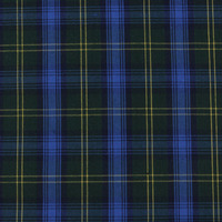 stock poplin plaid polyester cotton fabric