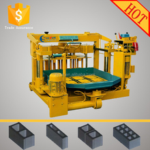 QMY4-30A moving hollow block machinery mobile laying concrete blocks to multifunction cement hollow block making machine