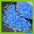 3D Nail Art DIY Jelly AB Aquamarine Color Round Candy Resin Rhinestone Handmade