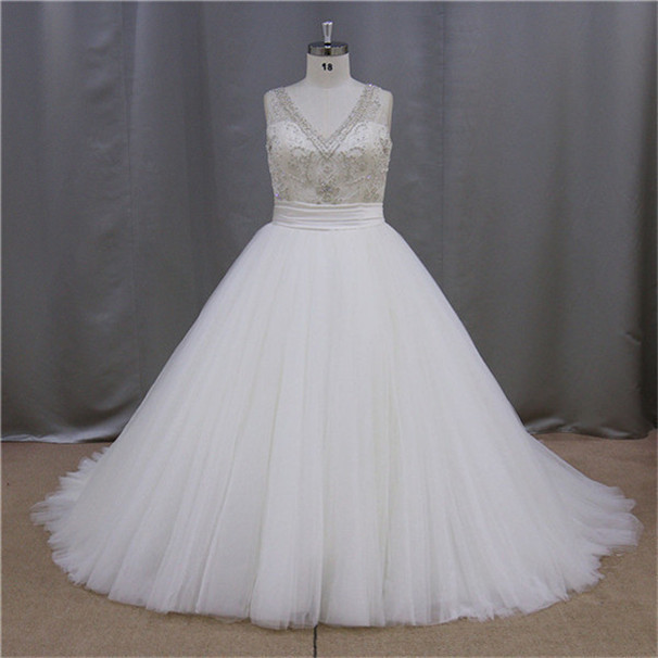 Half Sleeve Long plus size wedding gowns and bridal dress 2013