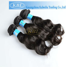 100% human hair Cheap brazilian body wave hair Ocean wave remy hair
