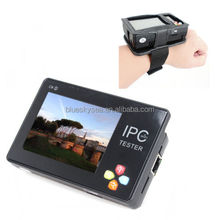 "IPC-1600 Portable Wrist 3.5"" Touch Screen IP Analog Network Camera Tester 12V"
