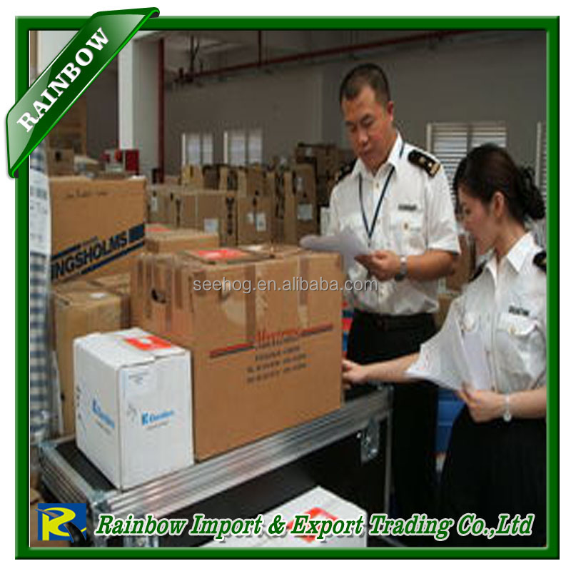 Clearing and forwarding agent in China