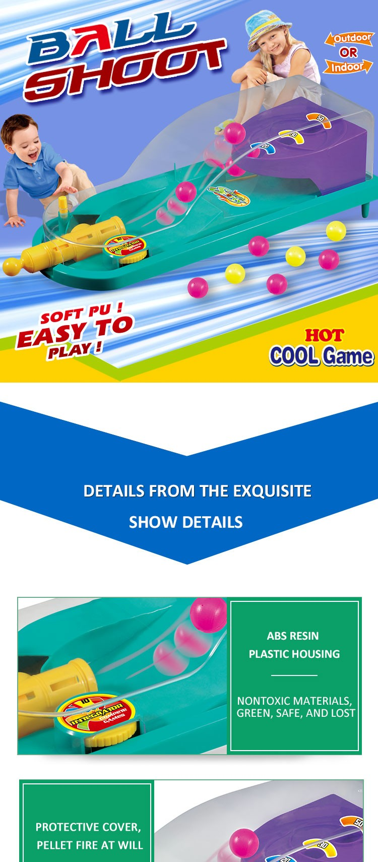 Good Sun Indoor Games Baby Toys Educational Toy