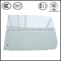 supply Hyundai R200-7 excavator e-mark approved tempered cabin glass