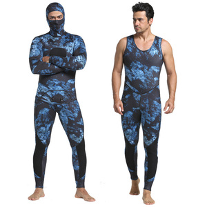 3MM Neoprene Camouflage Diving Suit Surfing Spearfishing Wetsuit for man