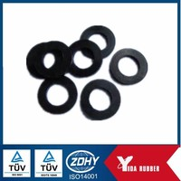 China supplier! best quality Flat Rubber Ring Black NBR O Ring Rubber O-Ring