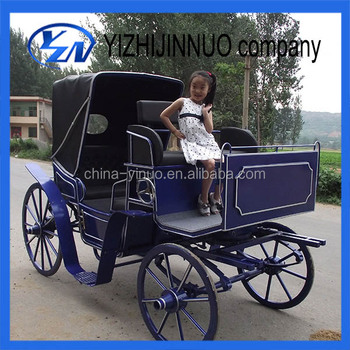 Yizhinuo hansom cab sightseeing horse drawn carriage/wagon/carts