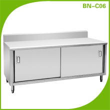 cheap stainless steel cute kitchen cabinets