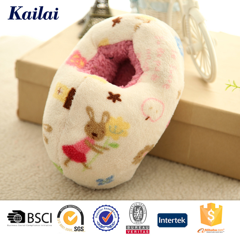 attractive style durable flat baby girl shoes
