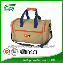 Factory cheap classic promotional polyester duffel travel bag