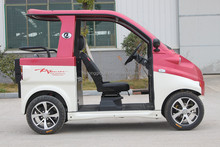 passenger use new electric car for pickup