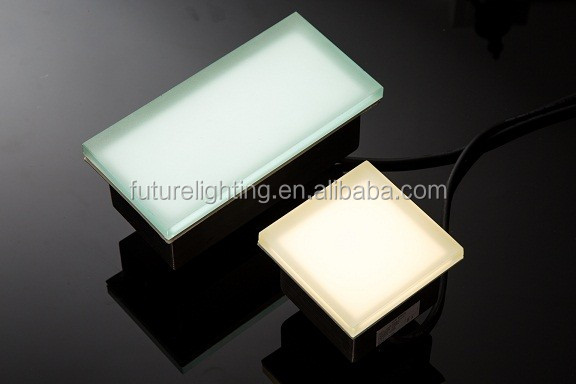 led paver light (4) led tile brick light