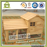 SDR02 wooden pet house Large rabbit hutch rabbit house