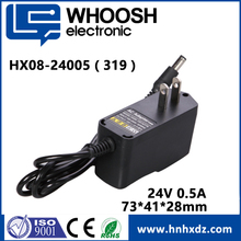 12V 1A /24V 0.5A DVE switching power adapter ac to dc adapter