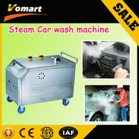 CE 24L non-boiler steam car cleaner/mobile steam car cleaner price/steam 12v washing machine