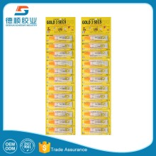 promotional well packaging seal glue