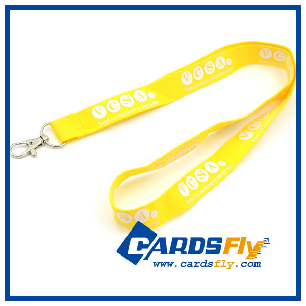High quality promotional custom logo pritning 100% eco lanyard