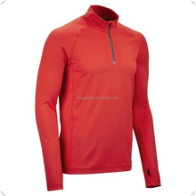 Customizable polyester spandex Quarter-zip golf performance pullover/Jacket/hoodie wholesale best quality and cheap price