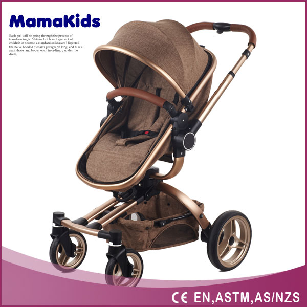Top level professional baby stroller new model small size 3 in 1 baby pram