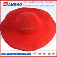 wholesale perfect wool felt capeline hat body