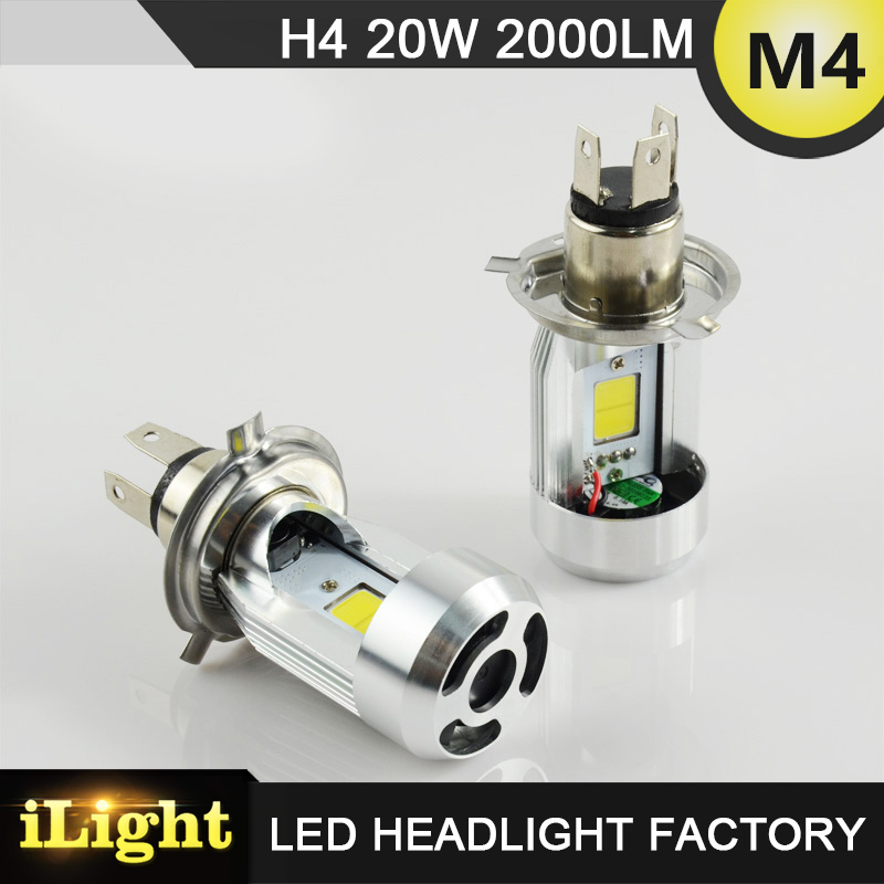 Small size easy to install just plugg and play 20w 2000umens led motorcycle headlight h7 6-36v wide voltage longer lifespan