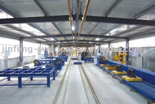 Piping Pre-fabrication Production line