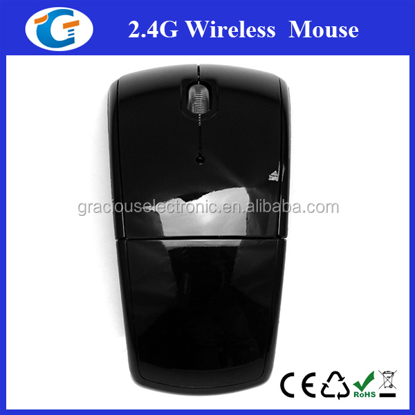 2.4Ghz wireless laptop pc computer usb ergonomic mouse with abs case
