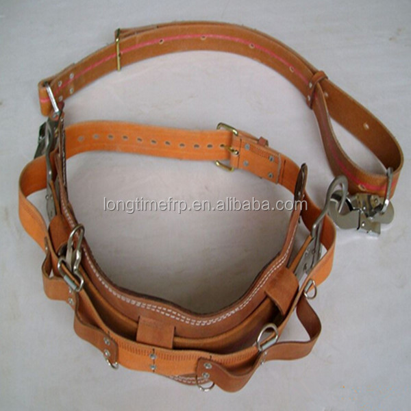 hot sell save belt for power pole, safety belt, lineman safety belt