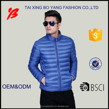 men ultralight duck down jacket for winter made in China on sale