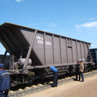 M70 Hopper wagon for Coal Transportation with UIC certification, train trailer