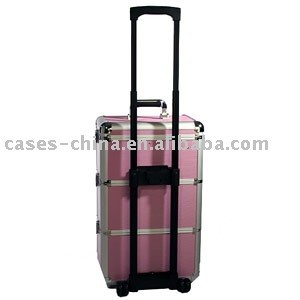 aluminum beauty hairdresser trolley case