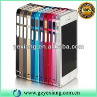 Stylish Screw Metal Aluminum Bumper Case Cover For Iphone 4/4s