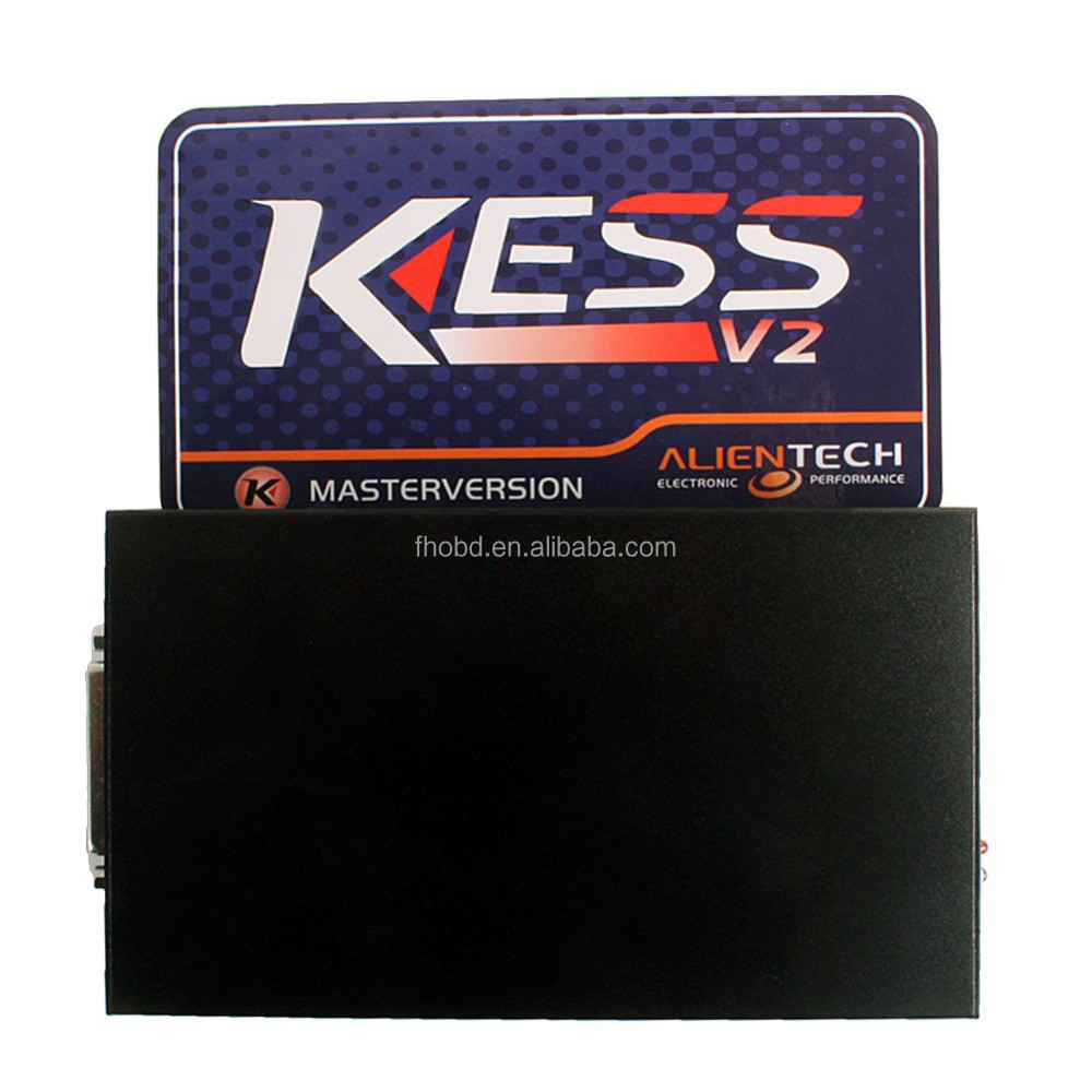 Newest V2.10 KESS V2 OBD2 Manager Tuning Kit No Token Limitation Master ECU Chip Tuning Remapping