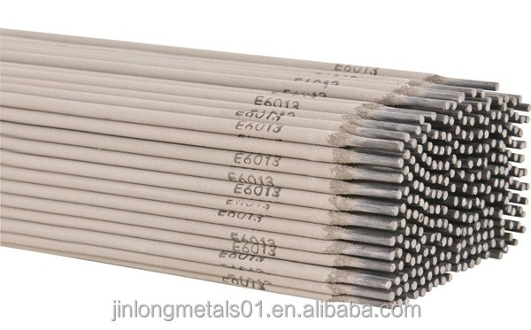 Hot rod welding electrodes AWS E6013 carbon steel material
