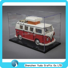 Bespoke toy stores used crystal clear perspex car model display box