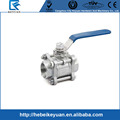 304 S.S Ball Valve, Socket Weld End Ball Valve, 3 PC Socket Weld End Ball Valve