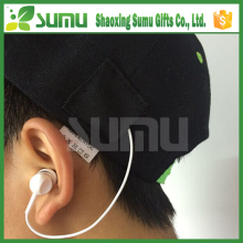 Unique design bluetooth sport summer caps with earphone
