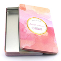 Rectangular Custom Design Tin Boxes For Cosmetic Packaging