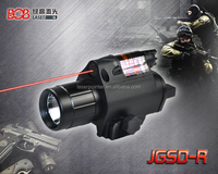 Good quality military defense tactical red laser flashlight combo for sale