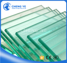 Deep Processing 19mm Cut To Size Toughened Tempered Glass For Elevation