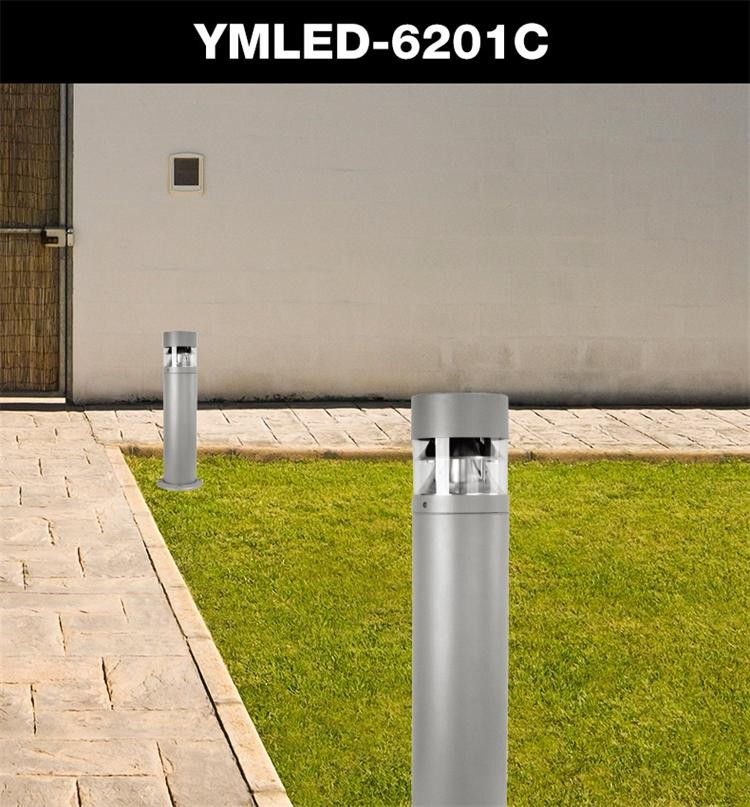 Die cast aluminum E27 AC220v lawn meadow outdoor bollard light